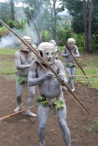 Meeting the Papua Mudmen